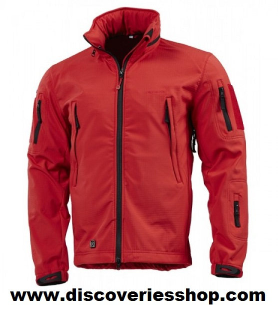 ΖΑΚΕΤΑ PENTAGON ARTAXES SOFTSHELL JACKET RED